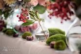 jarzębina i kasztany w dekoracji